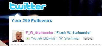 Frank walter steinmeier twitter