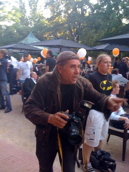 Action! - Wolfgang Klauke, der beste Fotograf, der mir bisher begegnet ist.